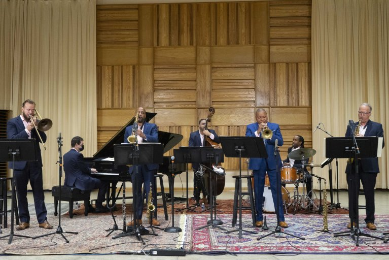 Hear music from the Jazz at Lincoln Center Orchestra Septet with Wynton Marsalis
